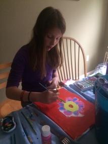 Caroline painting