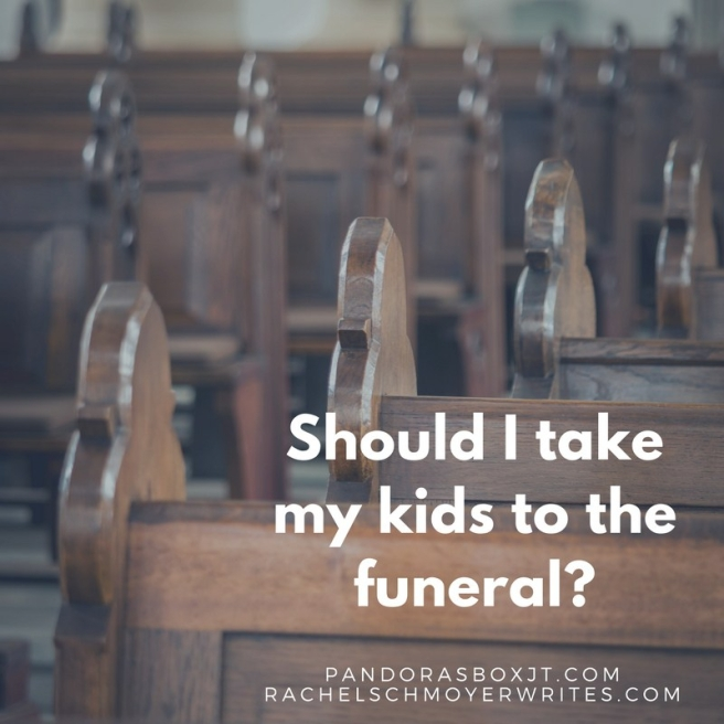 Should I take my kids to the funeral_